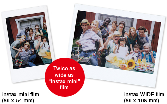Fuji instax wide Film - 10 foto's-234