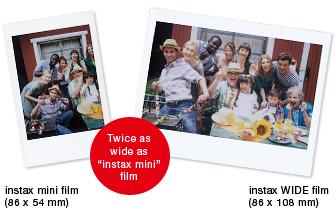 Fuji instax wide Film - 20 foto's-424