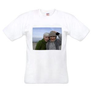 Foto (bedrukking) op t-shirt-0