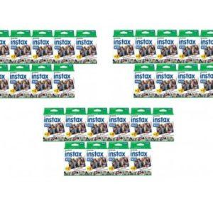 30x Fuji instax wide Film - 20 foto's (omdoos)-0