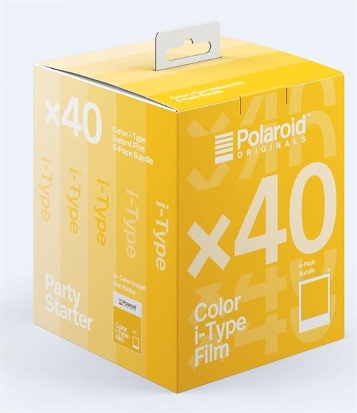 Polaroid Color i-Type - x40 film pack - kleur-0