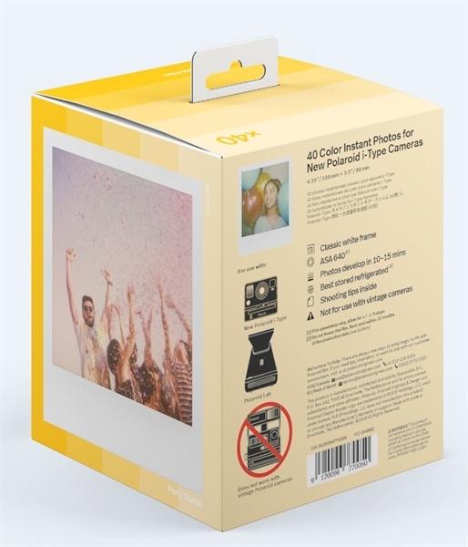 Polaroid Color i-Type - x40 film pack - kleur-2232