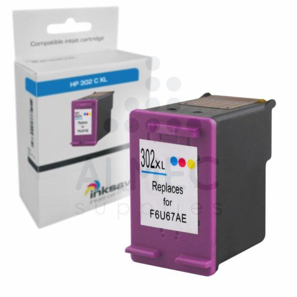 HP 302 CL XL inkt kleur HUISMERK-0