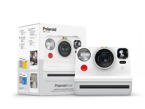 Polaroid NOW camera White-2545