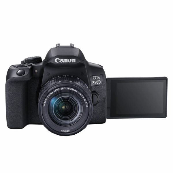 Canon EOS 850D + 18-55mm IS-2600