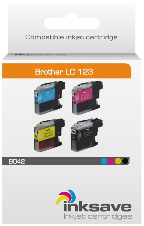 Brother LC 123 Multipack HUISMERK-2898