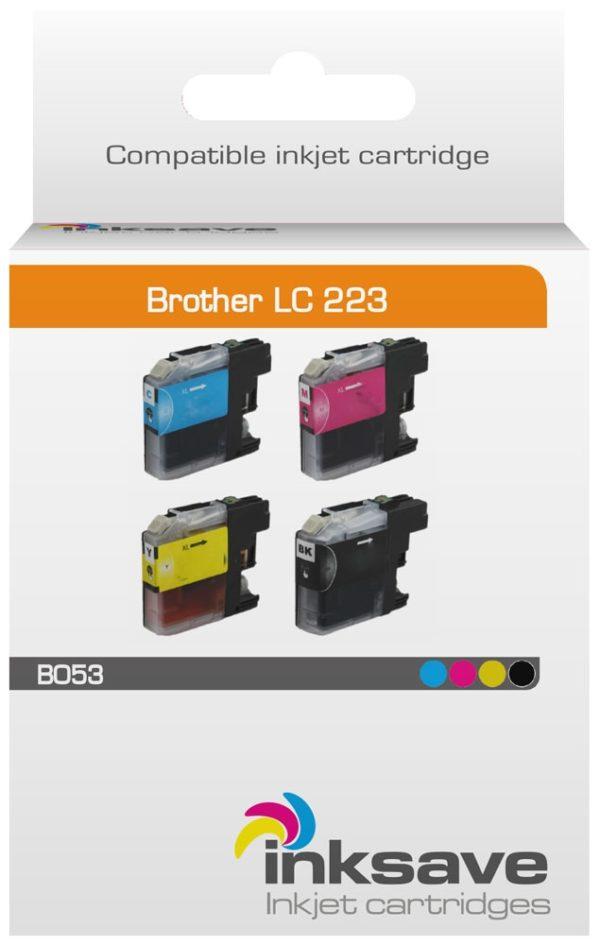 Brother LC 223 Multipack HUISMERK-2902