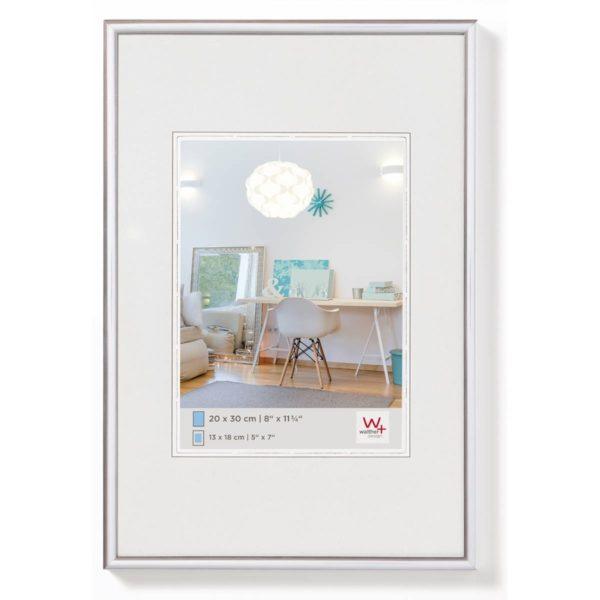 Kunststoflijst New Lifestyle A2 (42x59,7cm) zilver-2918